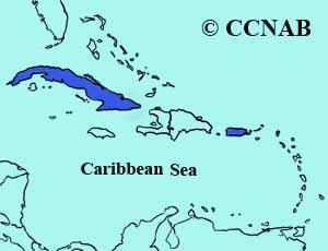 Cuban Martin range map